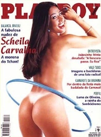 4 - Scheila Carvalho - Fevereiro 1998 - Playboy