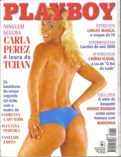9 - Carla Perez - Outubro 1996 - Playboy