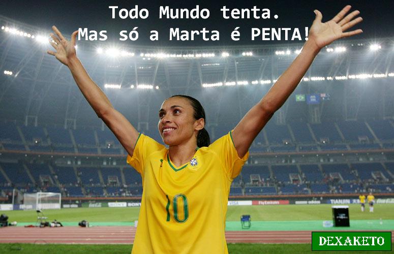 Só a Marta é Penta