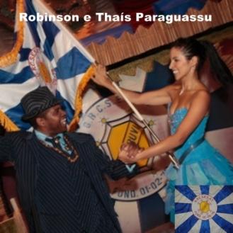 Robinson e Thaís Paraguassu