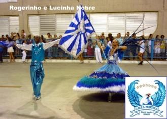 Rogerinho e Lucinha Nobre - Portela