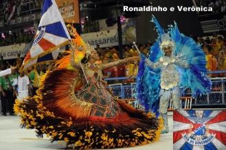 Ronaldinho e Veronica - uniao da Ilha