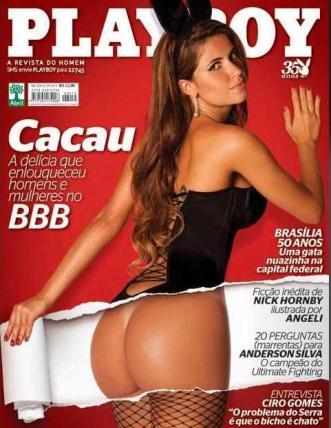 Cacau - Playboy - Abril 2010