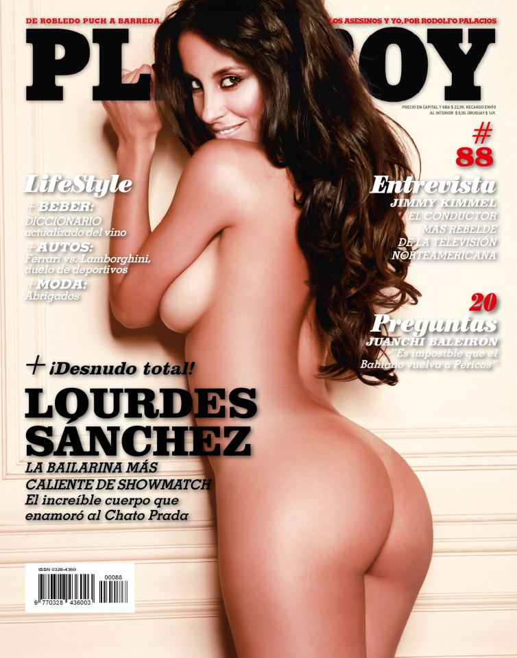 Lourdes Sanchez Playboy Abril