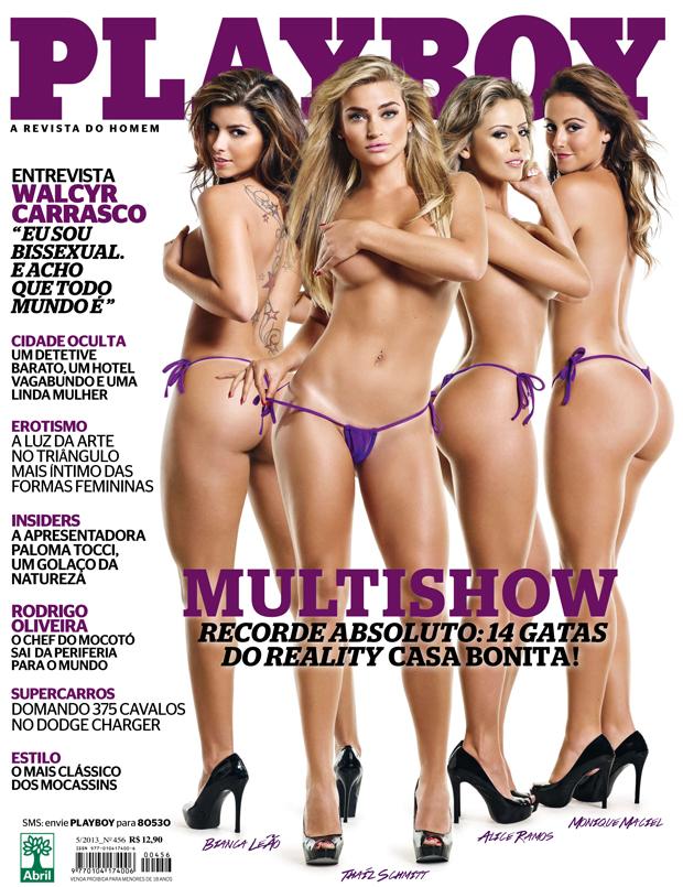 Gatas do Casa Bonita - Playboy - Maio 2013
