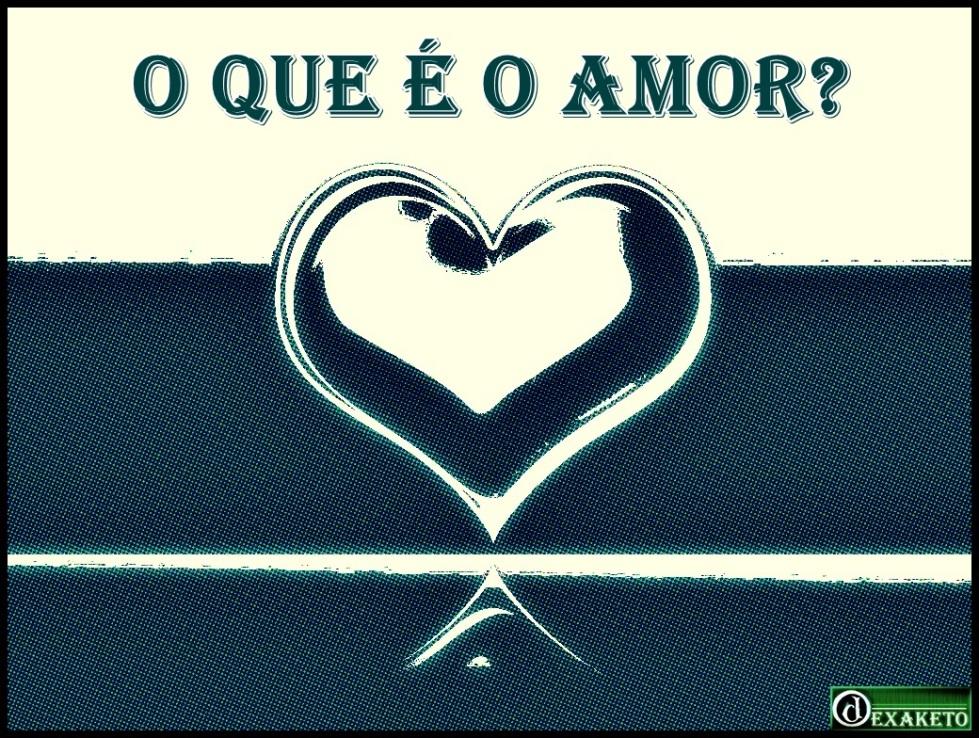 Logo O Que é o Amor