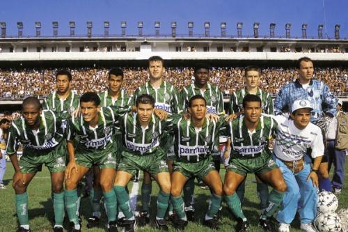 Palmeiras quebra recordes de gols e vitórias seguidas no Paulistão 1996