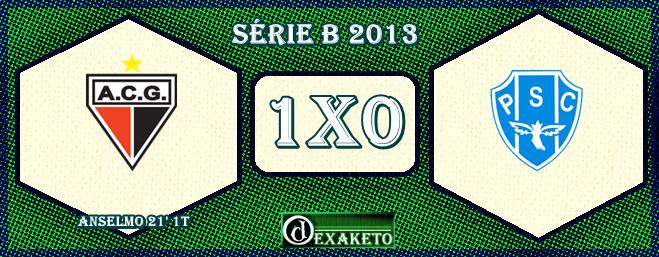 Atlético-GO 1x0 Paysandu