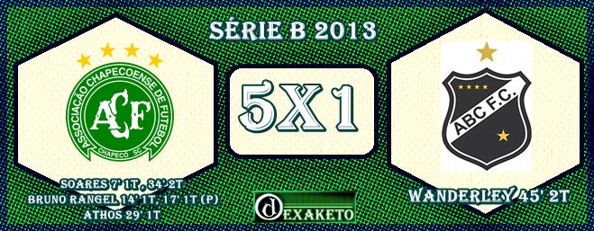Chapecoense 5x1 ABC