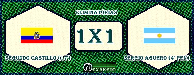 Ecuador X Argentina