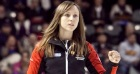 Team Ontario, Rachel Homan wins playoff game. The 2013 Scotties Tournament of Hearts, February 16-24, Kingston Onatrio, The Canadian Womans Curling Championship.