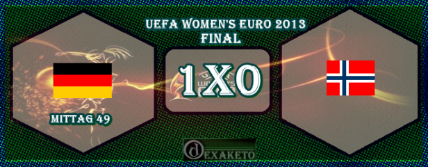 Germany Vs Norway - FINAL - UEFA Womens Euro 2013