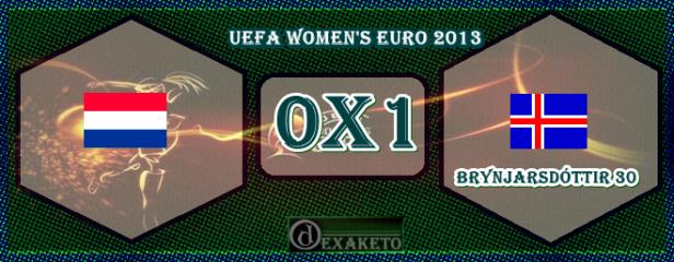 Netherlands Vs Iceland - UEFA Women's Euro 2013