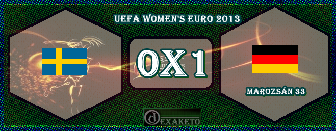 Sweden Vs Germany - UEFA Womens Euro 2013