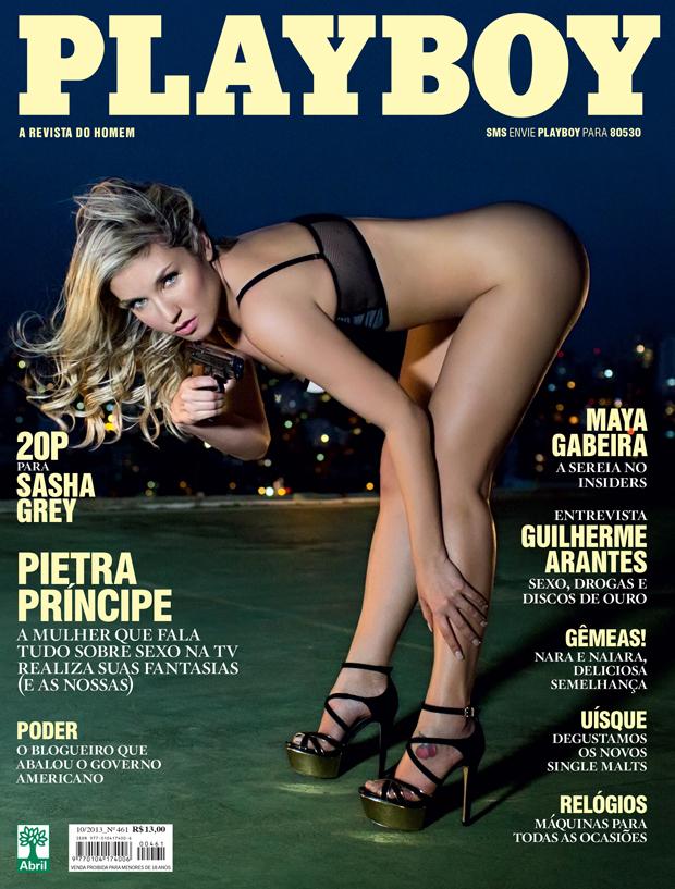Pietra Principe - Playboy - Outubro 2013