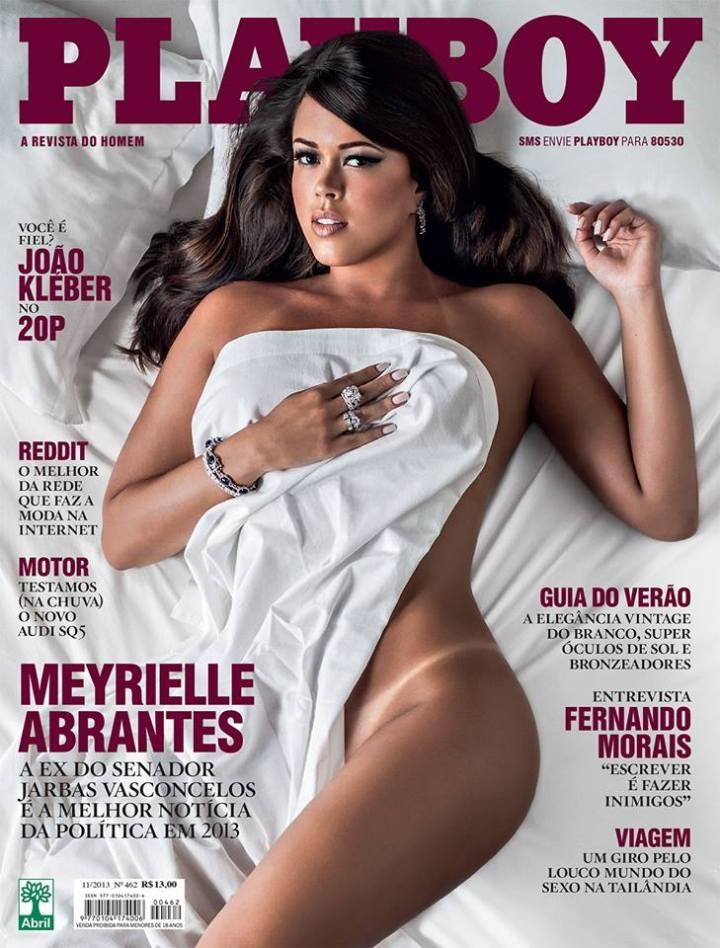 Meyrielle Abrantes - Playboy - novembro 2013