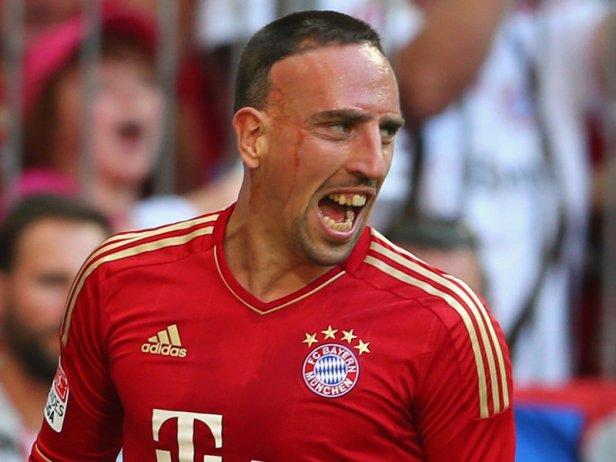 01 - Ribéry (Bayern - ALE)