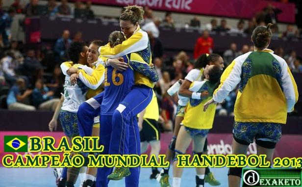 Brasil Campeã Mundial Handebol