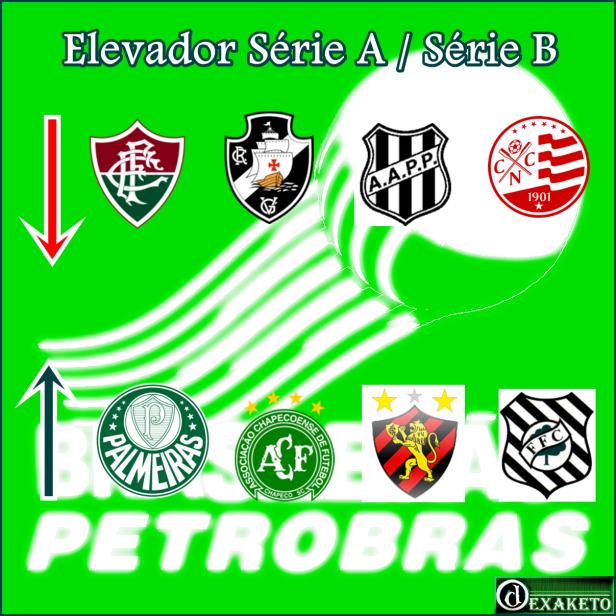 Elevador do Brasileirão Série A - Série B 2013-2014