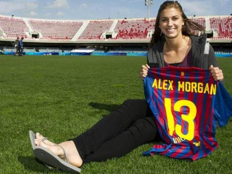 Alex Morgan Barcelona