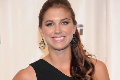 Alex Morgan Smile