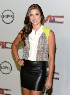 the beautiful Alex Morgan