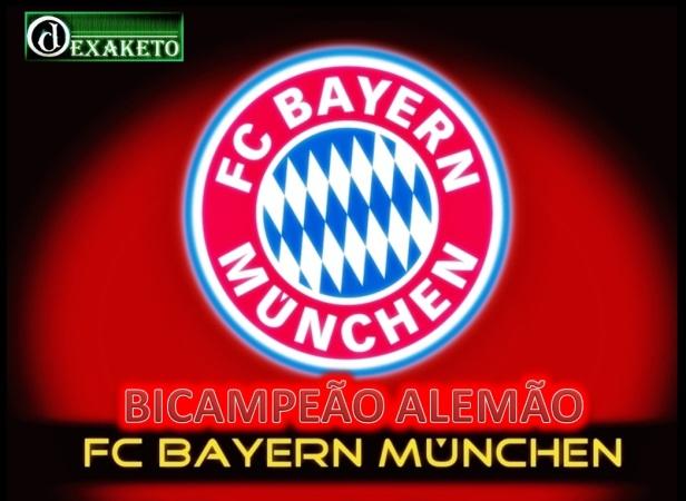 Bayern Munchen Bicampeão Alemão