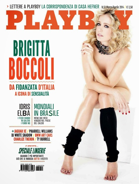 Brigitta Boccoli - Playboy - March-April 2014