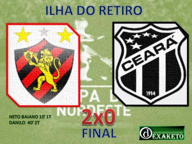 Sport vence Ceará