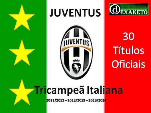 Juventus - Tricampeã Lega Serie A