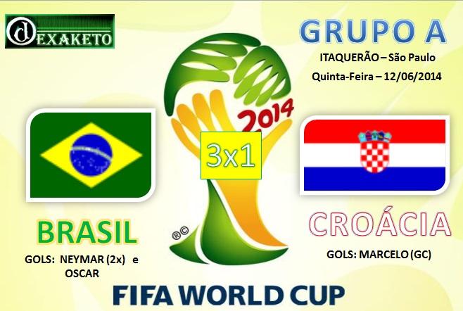 Brasil X Croacia