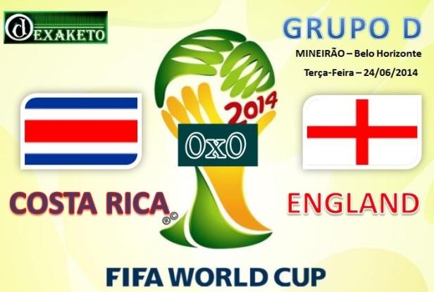 Costa Rica Vs England