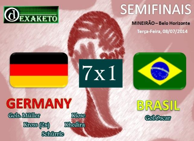 Germany Vs Brasil