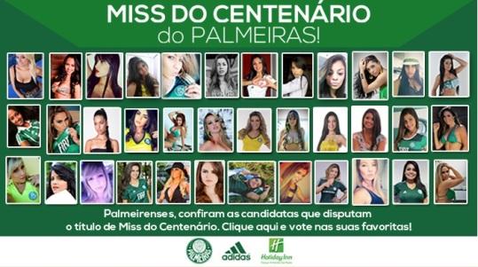 Miss do Centenário Palmeiras