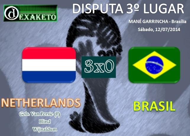 Netherlands v Brasil