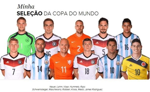 Seleção da Copa 2014