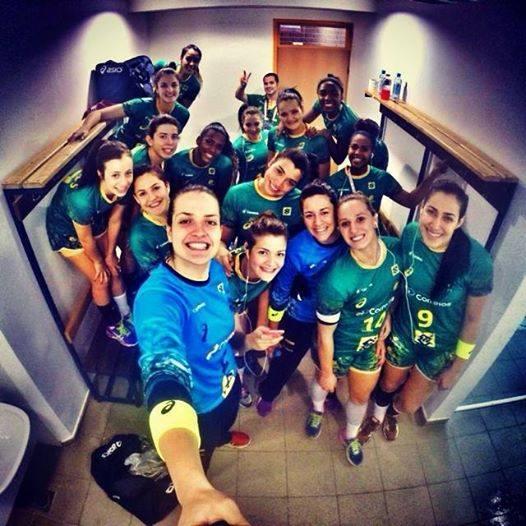 Seleção Feminina Junior de Handebol nas Oitavas do Mundial da Croacia