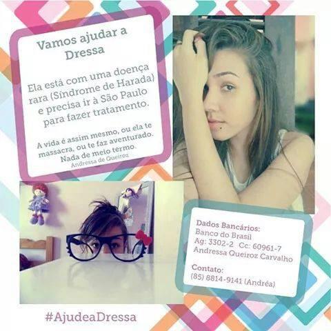 #AjudeaDressa