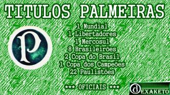 Titulos Oficias Palmeiras