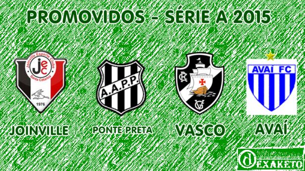 Promovidos Para Série A 2015