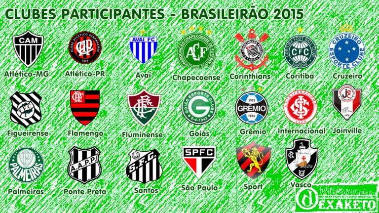 Clubes Participantes Serie A 2015