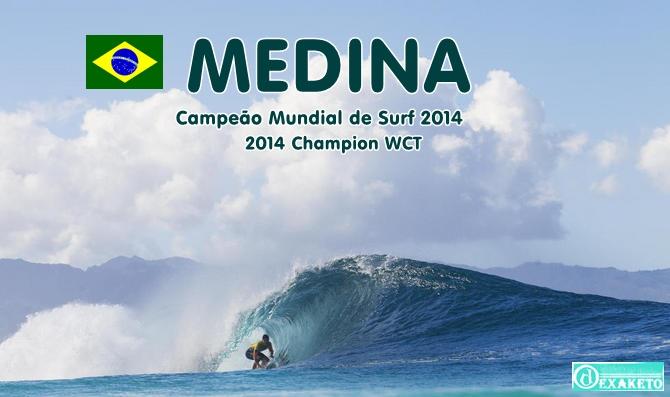 Medina - Campeão Mundial de Surf 2014