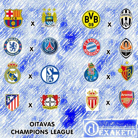 Oitavas - UEFA Champions League