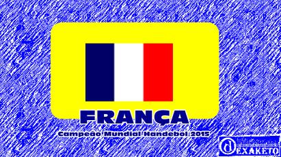 França Campeã Mundial Handebol 2015