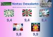 Notas Dexaketo - Grupo Especial A - Carnaval ES 2015