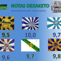 Notas Dexaketo - Grupo Especial - Carnaval RJ 2015 (2)
