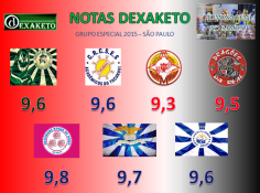 Notas Dexaketo - Grupo Especial - Carnaval SP 2015 (1)