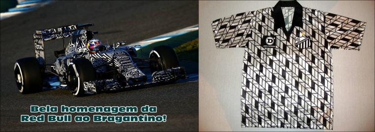 Red Bull Homenageia Bragantino Em Novo Carro - Dexaketo
