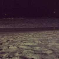 O mar da Praia de Iracema