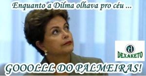 Dilma e o Palmeiras